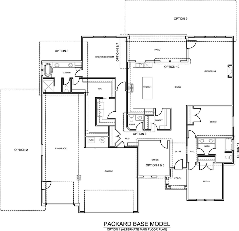 packard floor plan boise